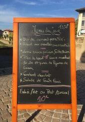 Menu La Galupe - Exemple de menu