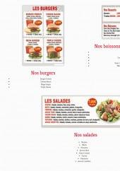 Menu Pizza Manhattan - Boissons, boissons et salades