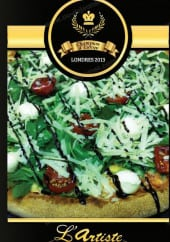 Menu L'Artiste Pizzaiolo - Carte et menu L'Artiste Pizzaiolo Andrezieux Boutheon