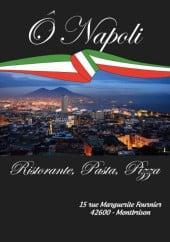 Menu Ô Napoli - Carte et menu Ô Napoli Montbrison