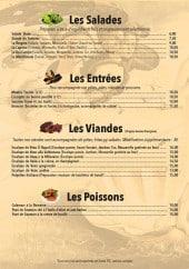 Menu Ô Napoli - Les salades, entrées,....