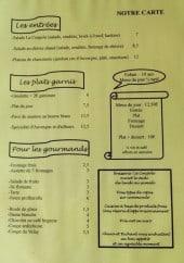 Menu La Coupole - Entrées, plats, menu,....