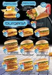 Menu Allo J'ai Faim - Les menus et burgers