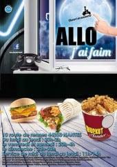 Menu Allo J'ai Faim - Carte et menu Allo J'ai Faim Nantes