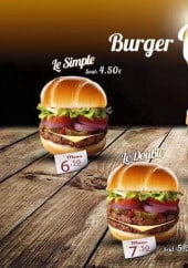 Menu Burger the one - Burgers
