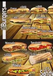 Menu Burger the one - Autre burgers et sandwiches