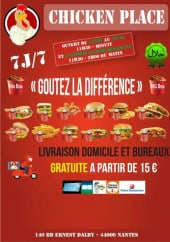 Menu Chicken - Carte et menu Chicken Nantes