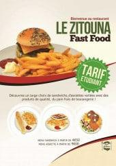 Menu Le Zitouna - Carte et menu Le Zitouna, Nantes
