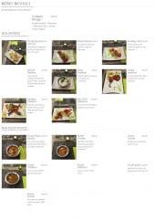 Menu Nandi - Les entrées, plats et le menu moogli