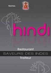 Menu Restaurant Hindi - Carte et menu, Restaurant Hindi, Nantes