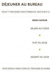 Traiteur sur le chemin des saveurs Nantes cartemenu et photos