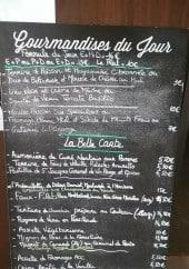 Menu Chez Lizette - Exemple de menu