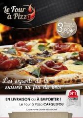 Menu Le Four à Pizza - Carte et menu Le Four à Pizza Carquefou