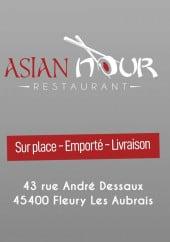 Menu Asian Nour - Carte et menu Asian Nour Fleury les Aubrais