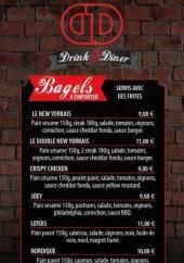 Menu Drink & Diner - Bagels