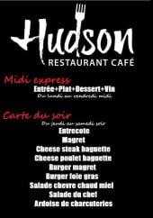 Menu Hudson Café - Le menu midi et carte du soir