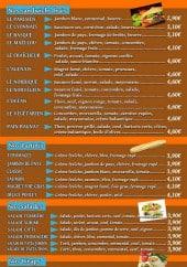 Menu L'Entre 2 - Les plats