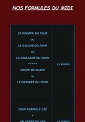 Menu La Vign' aux vins - Les formules du midi à 13€ et 15€