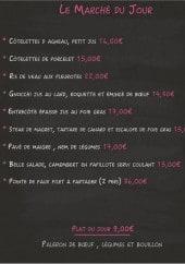 Menu Le Bistronome - Exemple de menu du jour