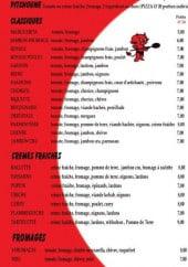 Menu Illy'co Pizza - Les pizzas
