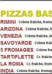 Menu La Roma Service - Les Pizzas base de crême fraiche