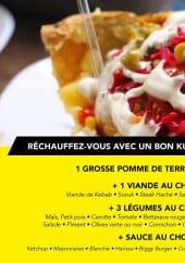 Menu Le Mevlana - Le menu kumpir