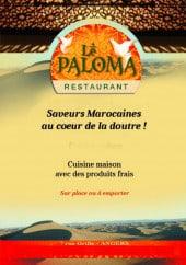 Menu Le Paloma - Carte et menu Le Paloma  Angers