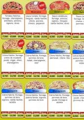 Menu O'2rives - Les pizzas suite