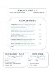Menu Le San Marco - Formules et menus