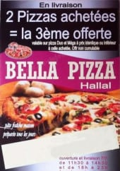 Carte et menu Bella Pizza Cholet