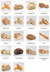 Menu La mie câline - Les pains