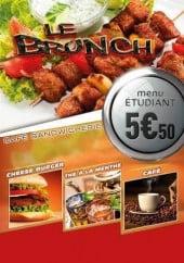 Menu Le Brunch - Carte et menu Le Brunch Cholet