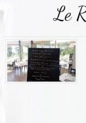 Menu Le Restaurant du Golf - Ardoise du midi