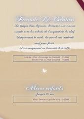Les Ménestrels à Saumur, carte-menu et photos