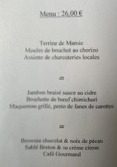 Menu Le Relais du Viaduc - Menu à 31.9€
