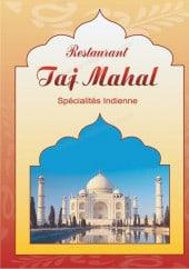 Menu Restaurant Tajmahal - Carte et menu Restaurant Tajmahal Chalons en Champagne