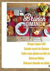 Menu Chez Lou - Le brunch