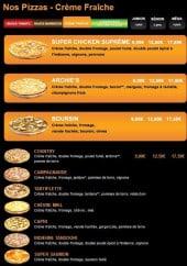 Les Pizzas à Base de Crème Fraiche