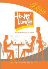 Menu Happy Lunch - Carte et menu Happy Lunch Reims