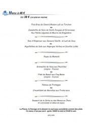 Menu La cloche - Le menu à 48€