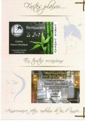 Menu Le 2 en 1 - Carte et menu Le 2 en 1 à Epernay