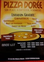 Menu Pizza Dorée - carte et menu Pizza Dorée