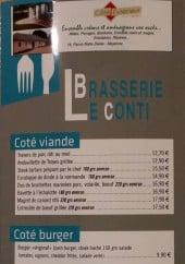 Menu Le Continental - Côté viande et burger
