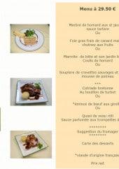 Menu Le Green - Menu à 29.5€