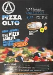 Menu Pizza Olto - Carte et menu Pizza Olto Nancy