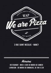 Menu We Are Pizza - carte et menu We Are Pizza Nancy