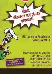 Menu Pizz'Ajo - carte et menu pizz'ajo jarville