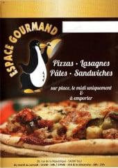Menu Espace Gourmand - Carte et menu Espace Gourmand Dommartin les Toul
