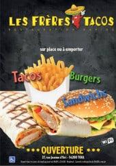 Menu Les Frères Tacos - Carte et menu Les Frères Tacos Toul