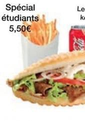 Menu Le Bosphore - Le menu étudiant